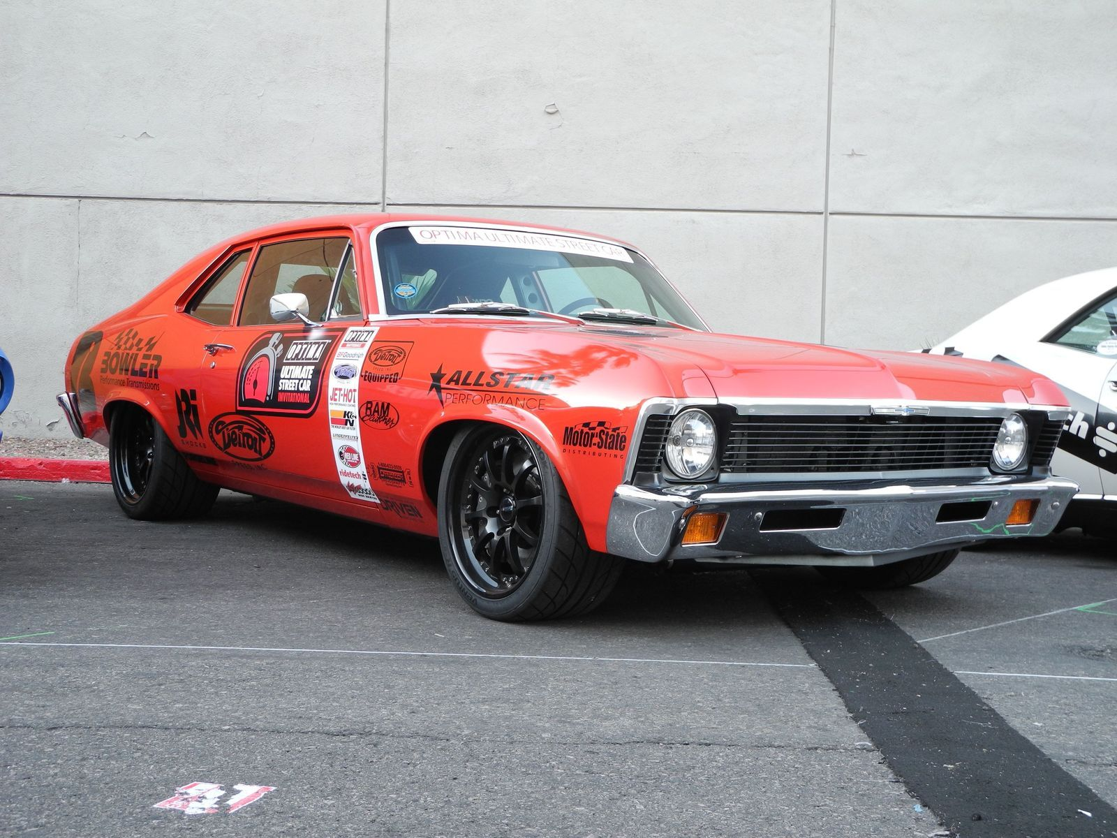 1972 Chevrolet Nova | Billy Utley's 1972 Chevy Nova on Forgeline ZX3R Wheels at the 2014 SEMA Show