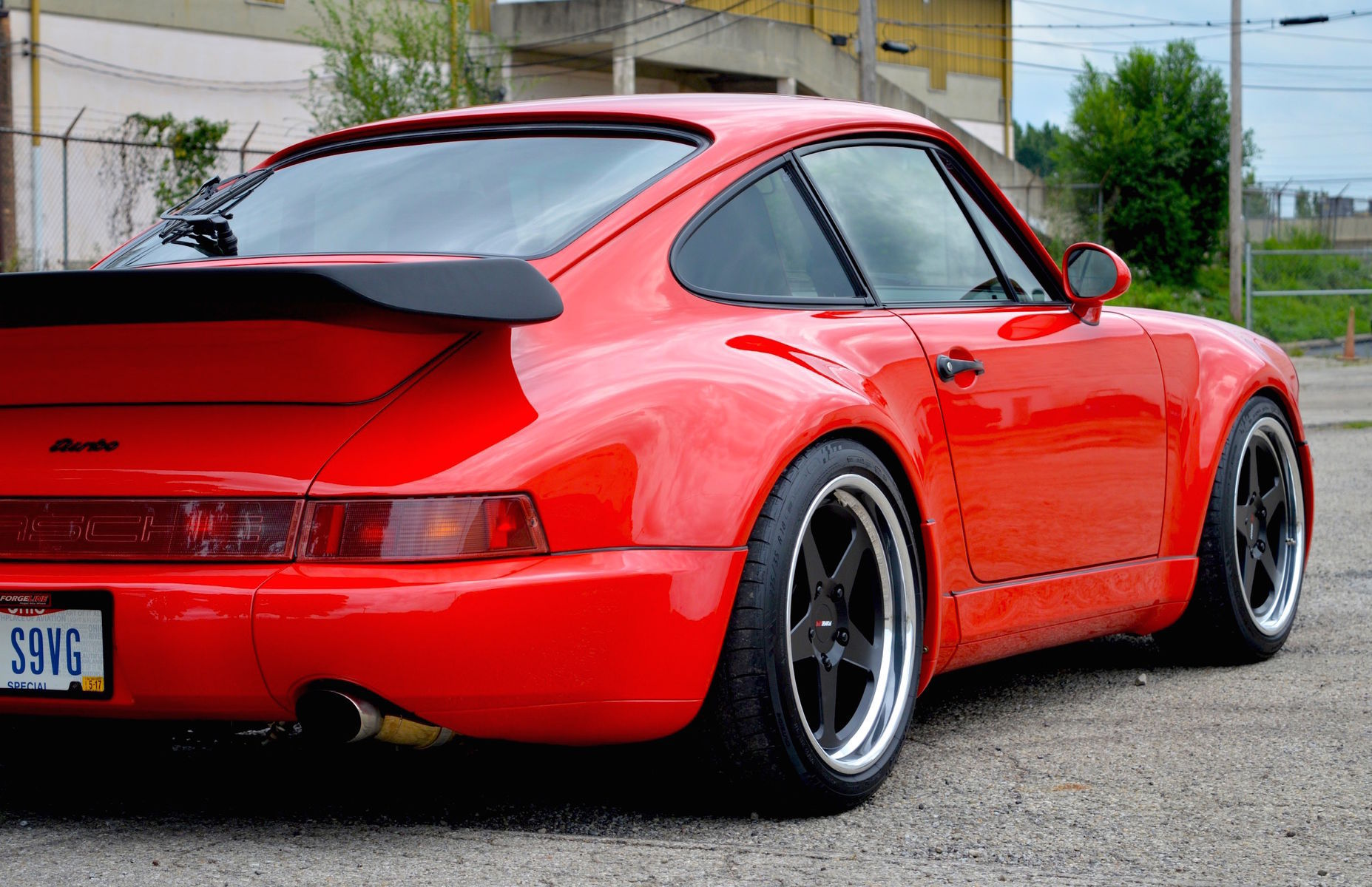 1991 Porsche 964 | Dave Schardt's Porsche 964 Turbo on Forgeline Heritage Series FF3 Wheels