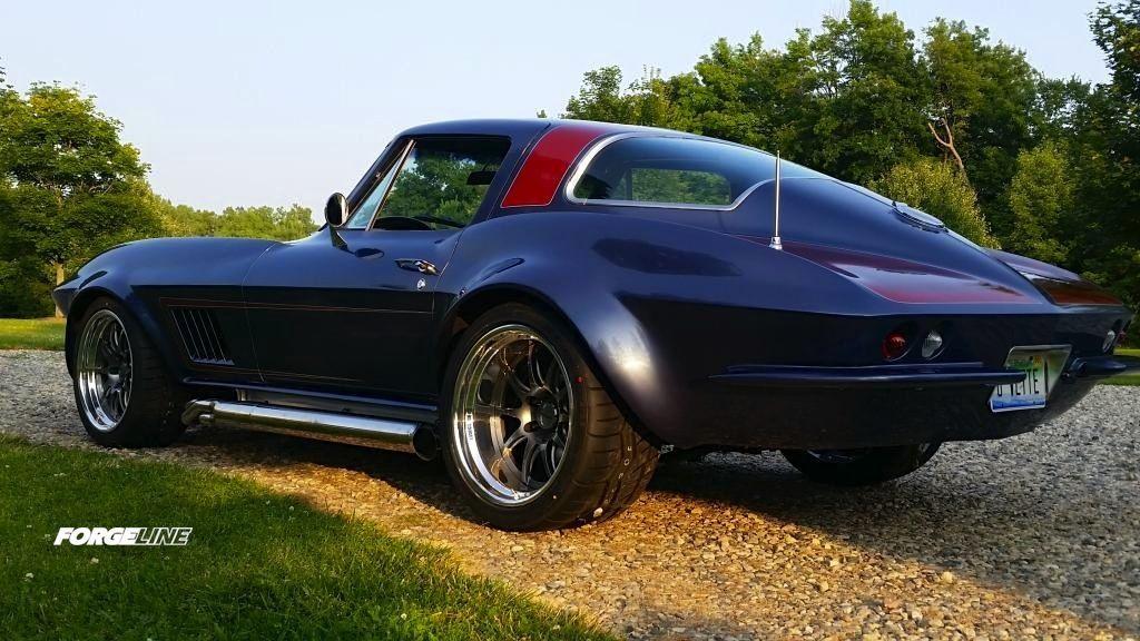 1966 Chevrolet Corvette Stingray   Jill Oberle's 1966 Corvette Stingray Coupe on Forgeline GZ3R Wheels