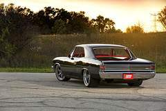"Tom D's Roadster Shop ""Onyx"" '67 Chevelle on Forgeline RS6 Wheels"