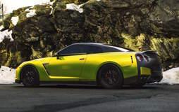 "Greg's Alpha12-Powered ""Gorzilla"" R35 Nissan GT-R on Forgeline GA3 Wheels"