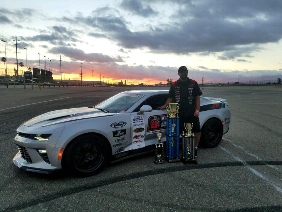 2017 Chevrolet Camaro | Jordan Priestley Wins NMCA West Hotchkis Autocross 2016 Season Championship in the JDP Motorsports 6th Gen Camaro SS on Forgeline GA3 Wheels