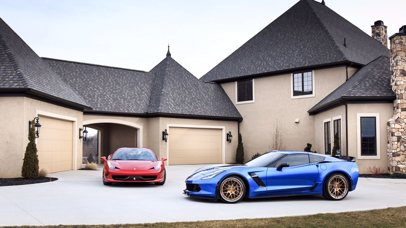 2015 Chevrolet Corvette Z06 |  Corvette C7 Z06 on Forgeline DE3C-SL Wheels