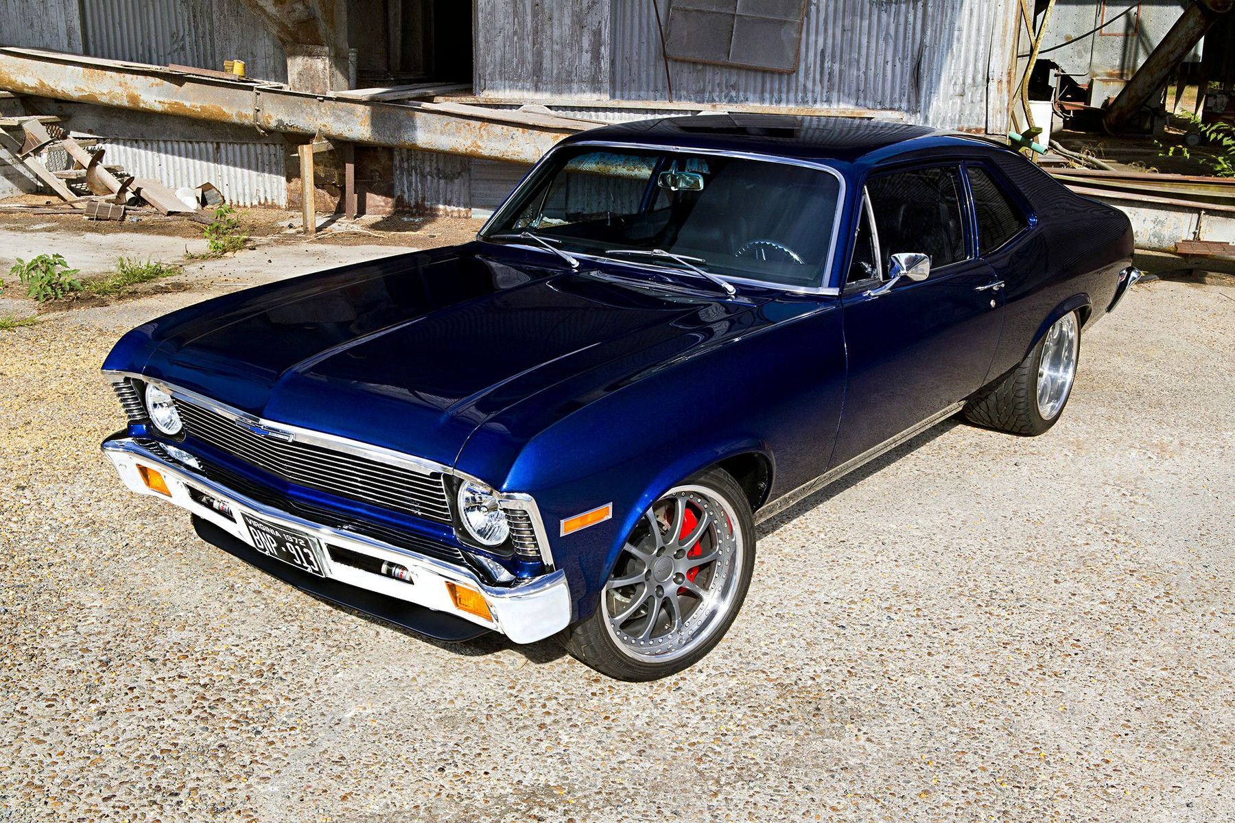 1972 Chevrolet Nova | Randy Clark's '72 Chevy Nova on Forgeline ZX3P Wheels