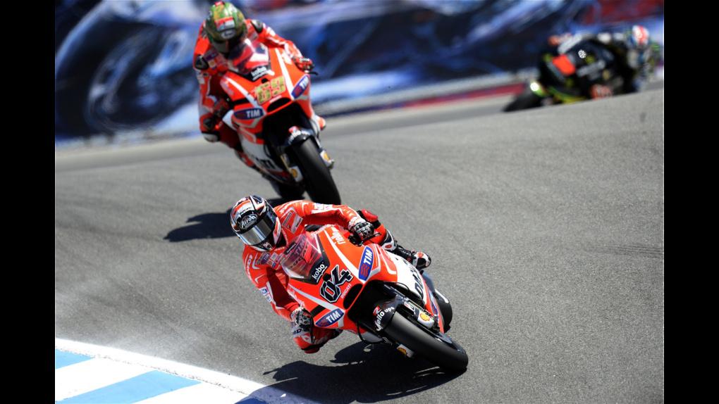 2013 Ducati  | 2013 MotoGP - Laguna Seca - Hayden and Dovi
