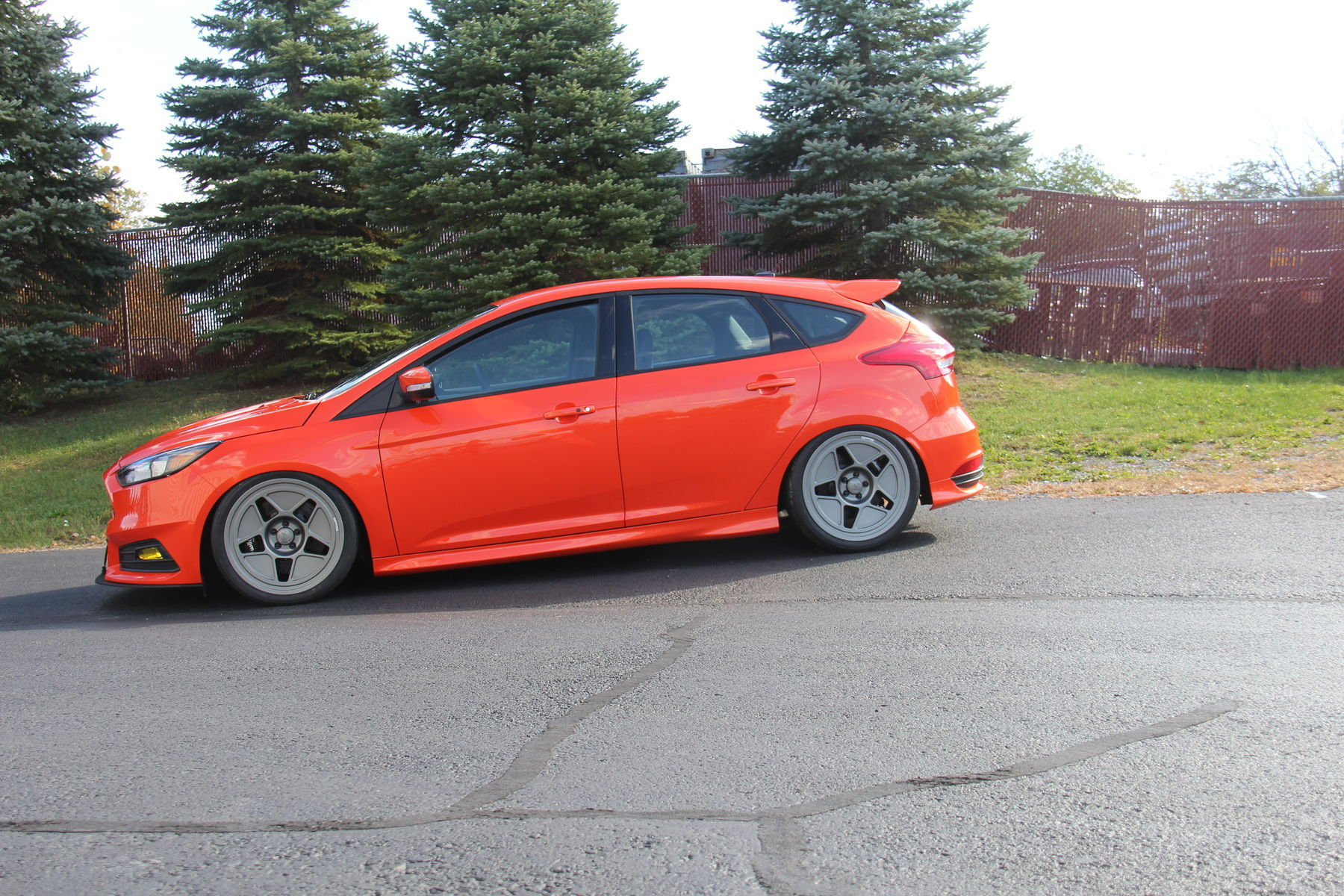 CJ Pony Parts Focus ST - Side Profile