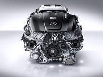 Mercedes AMG twin-turbocharged V8