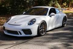 Alex Bowman's Porsche GT3 on Forgeline One Piece Forged Monoblock VX1R Wheels
