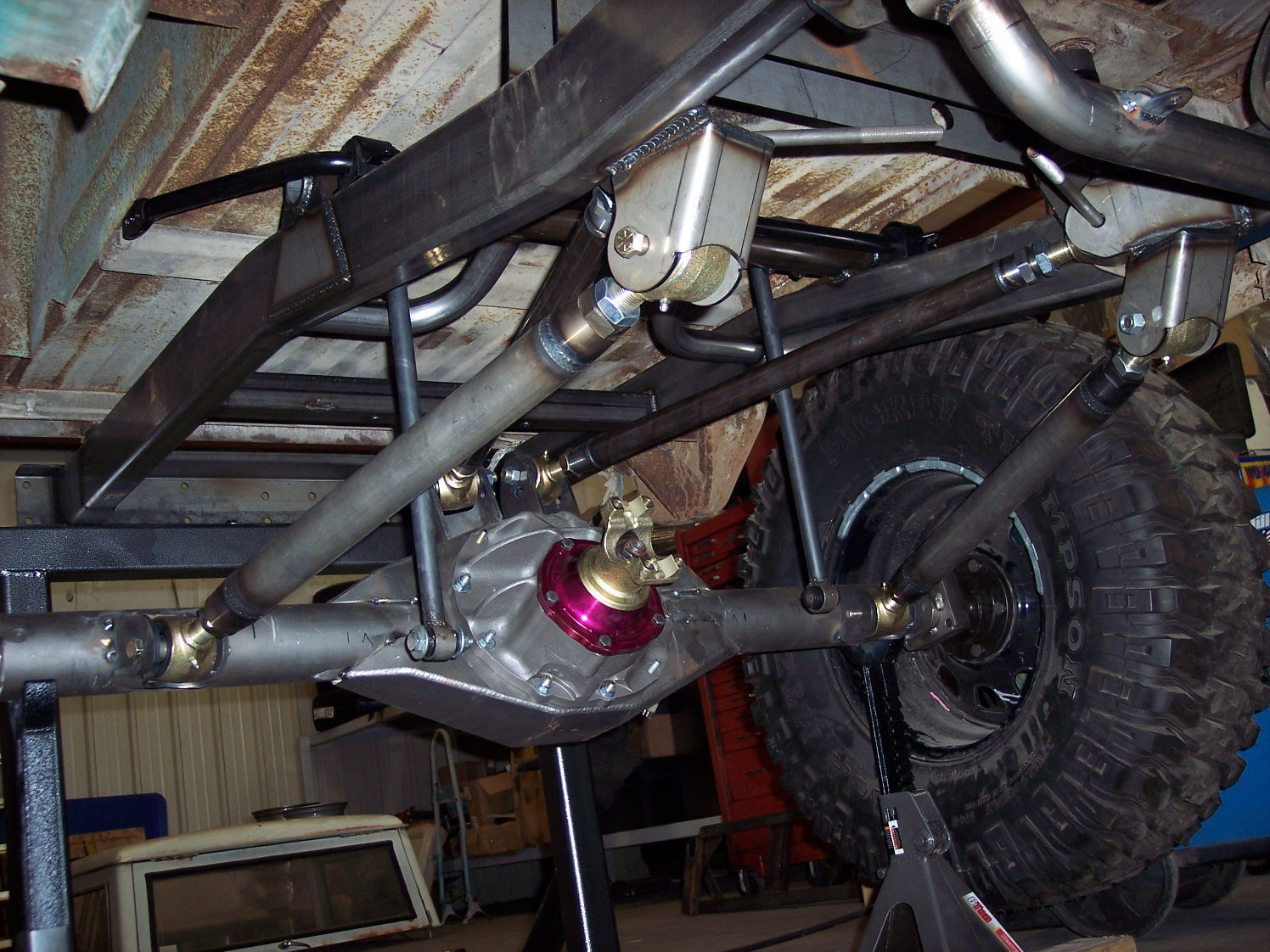 1968 Ford Bronco | Rear Suspension