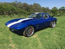 Harry Turner's 1963 Corvette Grand Sport on Grip Equipped Grudge Wheels
