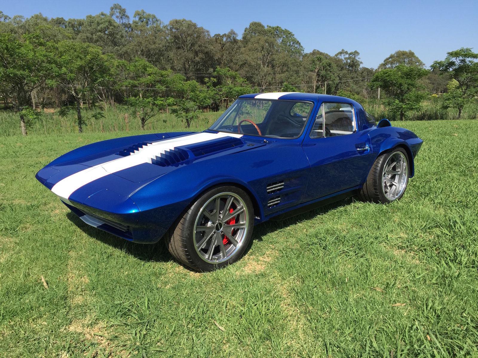 1963 Chevrolet Corvette | Harry Turner's 1963 Corvette Grand Sport on Grip Equipped Grudge Wheels