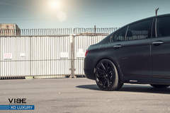 "BMW 535i on 20"" XO Luxury Milan Wheels - Rear Wheel"
