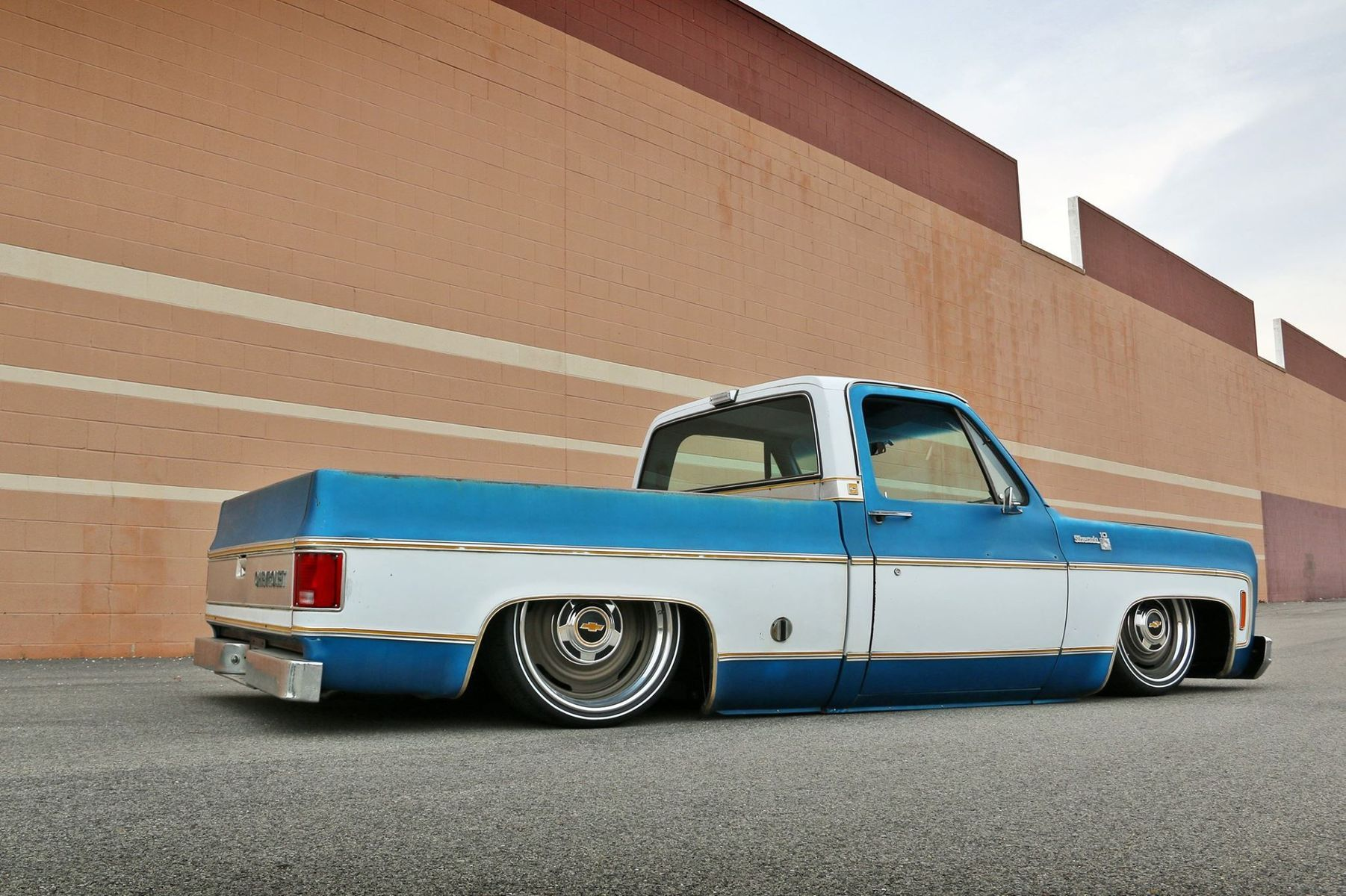 1976 Chevrolet C-10 | Roadster Shop's 1976 Chevy C10 SPEC Squarebody on RS-Designed Forgeline Wheels