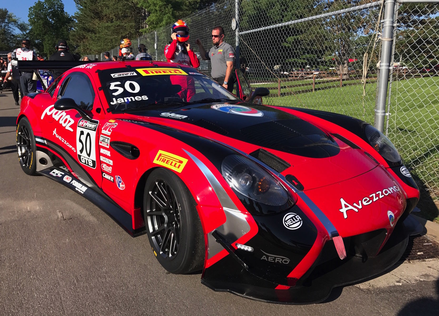 2017 Panoz  | Forgeline Teams Top the Pirelli World Challenge Podium at Mid-Ohio