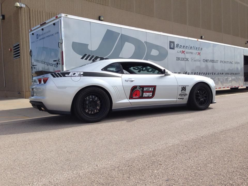 2011 Chevrolet Camaro | JDP Motorsports Camaro on Forgeline GW3 Wheels Wins at Sturgis