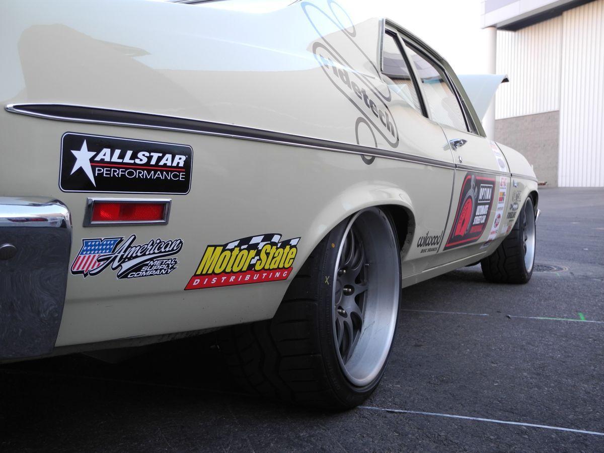 1972 Chevrolet Nova | Dan Ballard's '72 Nova on Forgeline GZ3 Wheels at the 2014 SEMA Show