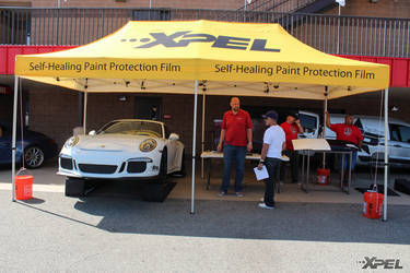 XPEL booth at the California Festival of Speed with Clear Pro LLC