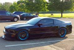 Rick Haynes' Bagged MBRP Exhaust S197 Mustang GT on Forgeline GX3 Wheels