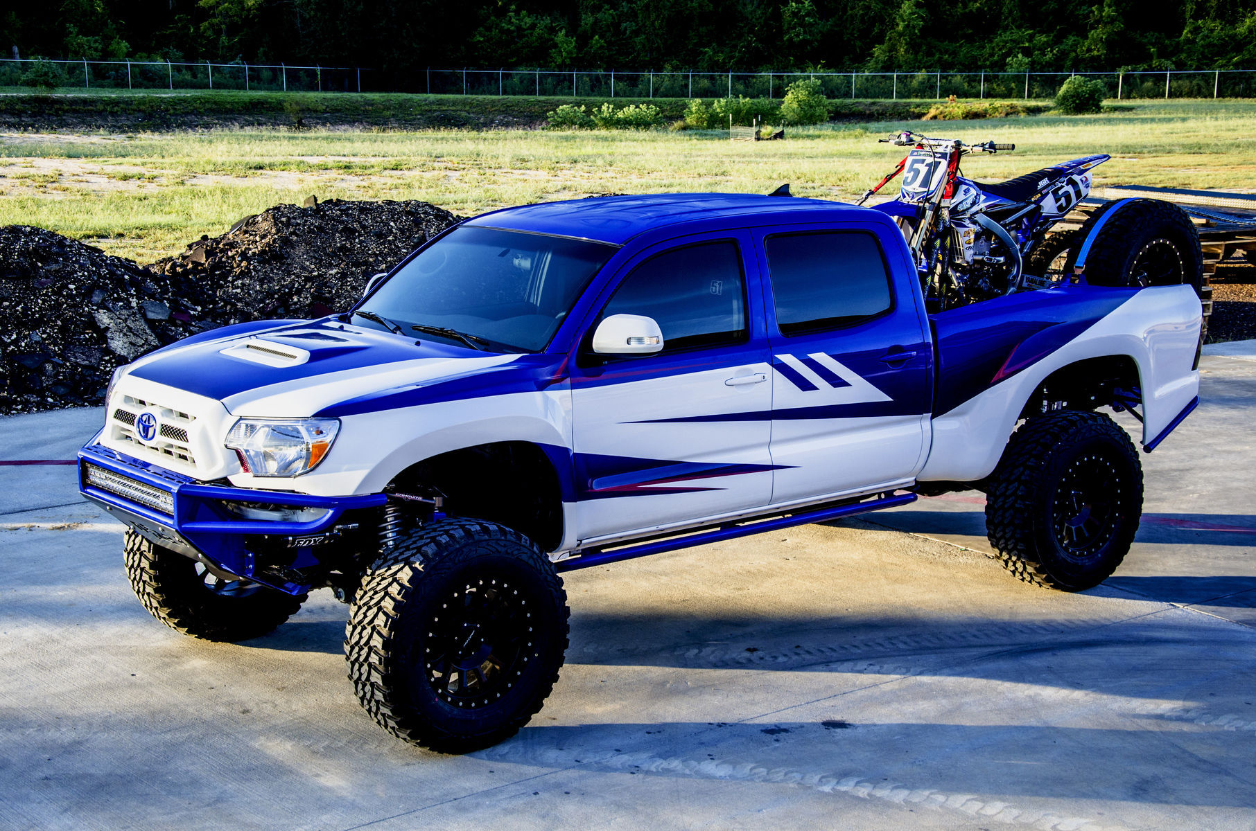 Toyota Tacoma   Justin Barcia's JGR Build