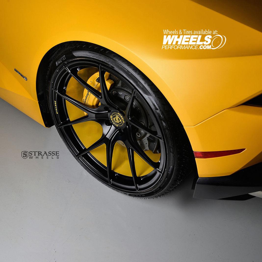 Lamborghini Huracan | Strasse Forged SM5R Deep Concave