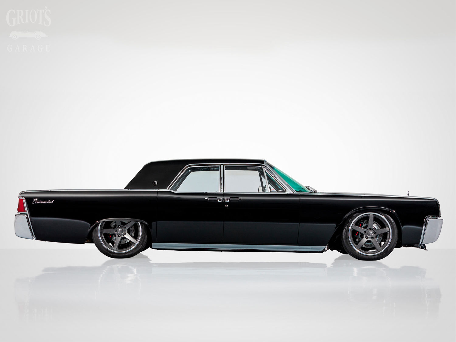 1963 Lincoln Continental | Nick Griot's J-Rod & Custom 1963 Lincoln Continental on Forgeline CF3C Wheels