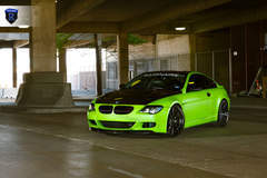 Green BMW 6 Series - Front