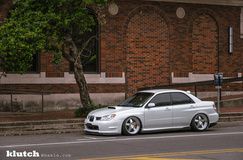 '07 Subaru WRX STI on Klutch SL5's