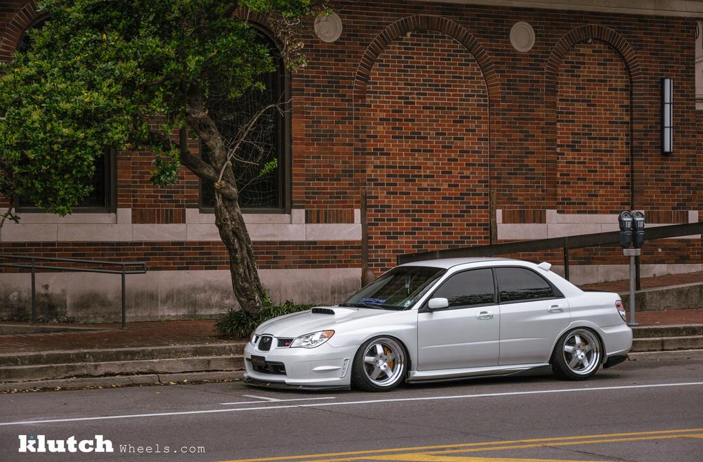 2007 Subaru Impreza WRX | '07 Subaru WRX STI on Klutch SL5's