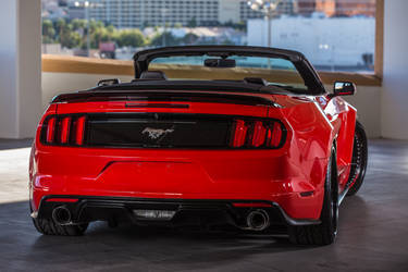 2015 Ford Mustang | 2015 TS Designs Ford Mustang - Rear Shot