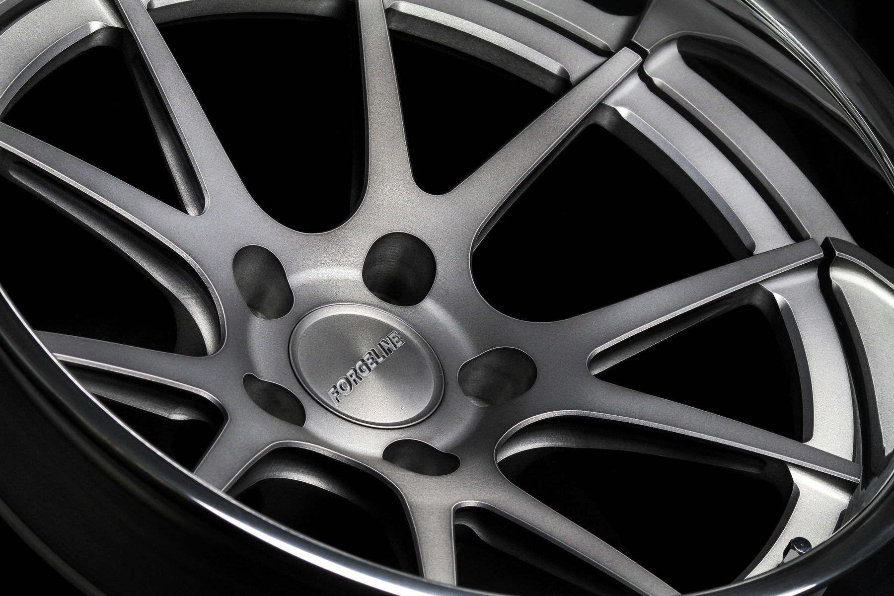 | Forgeline GA3C Concave Wheel in Matte Tinted Clear Finish