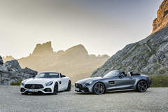 Mercedes AMG GT Roadster and GT C Roadster