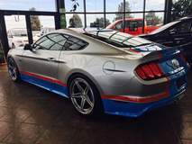 Petty's Garage King Premier Edition Mustang on Forgeline SC3C-SL Wheels
