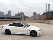 2015 BMW M4 on Detroit Skyline