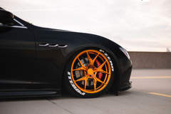 Lowered Maserati Ghibli - Front Right Wheel