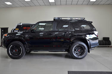 2014 Toyota 4Runner | N-FAB TRD PRO Build - Toyota 4-Runner Side Profile Shot