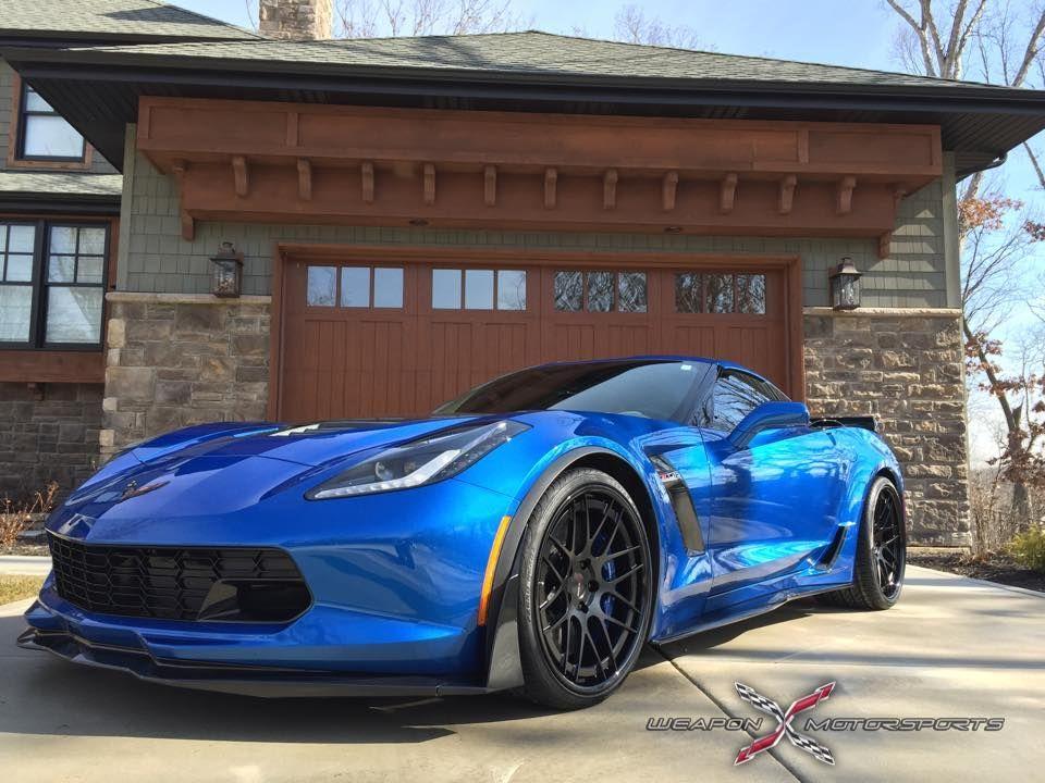 2015 Chevrolet Corvette Z06 | Laguna Blue C7 Corvette Z06 on Forgeline DE3C-SL Wheels