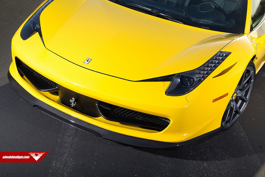 Ferrari 458 Italia   Vorsteiner 458