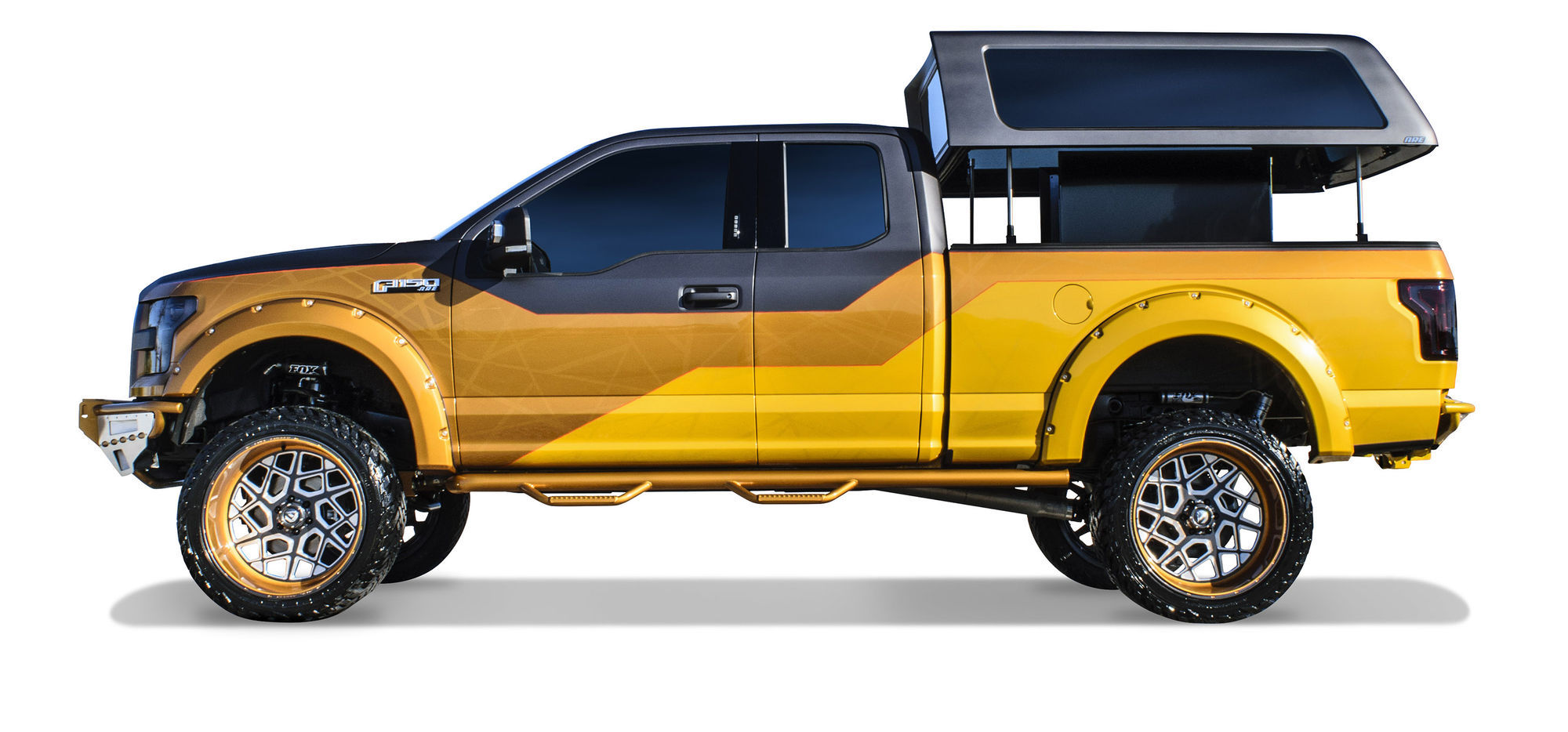 2016 ford f 150 xlt supercab by a r e accessories. Black Bedroom Furniture Sets. Home Design Ideas