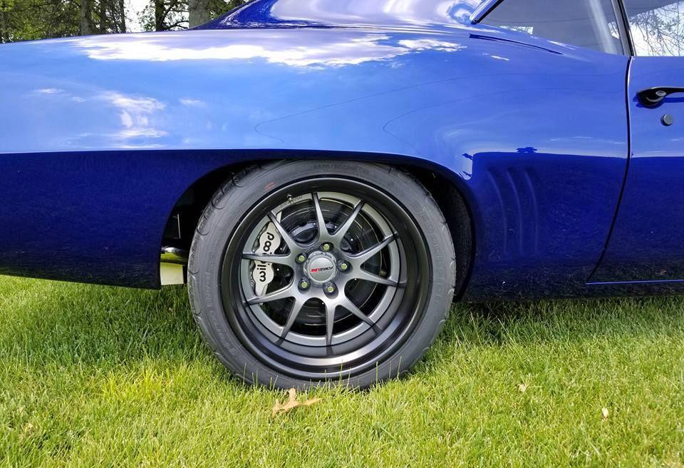 1969 Chevrolet Camaro | Alex's Blue LT4-Powered Pro-Touring '69 Camaro on Forgeline GA3R Wheels