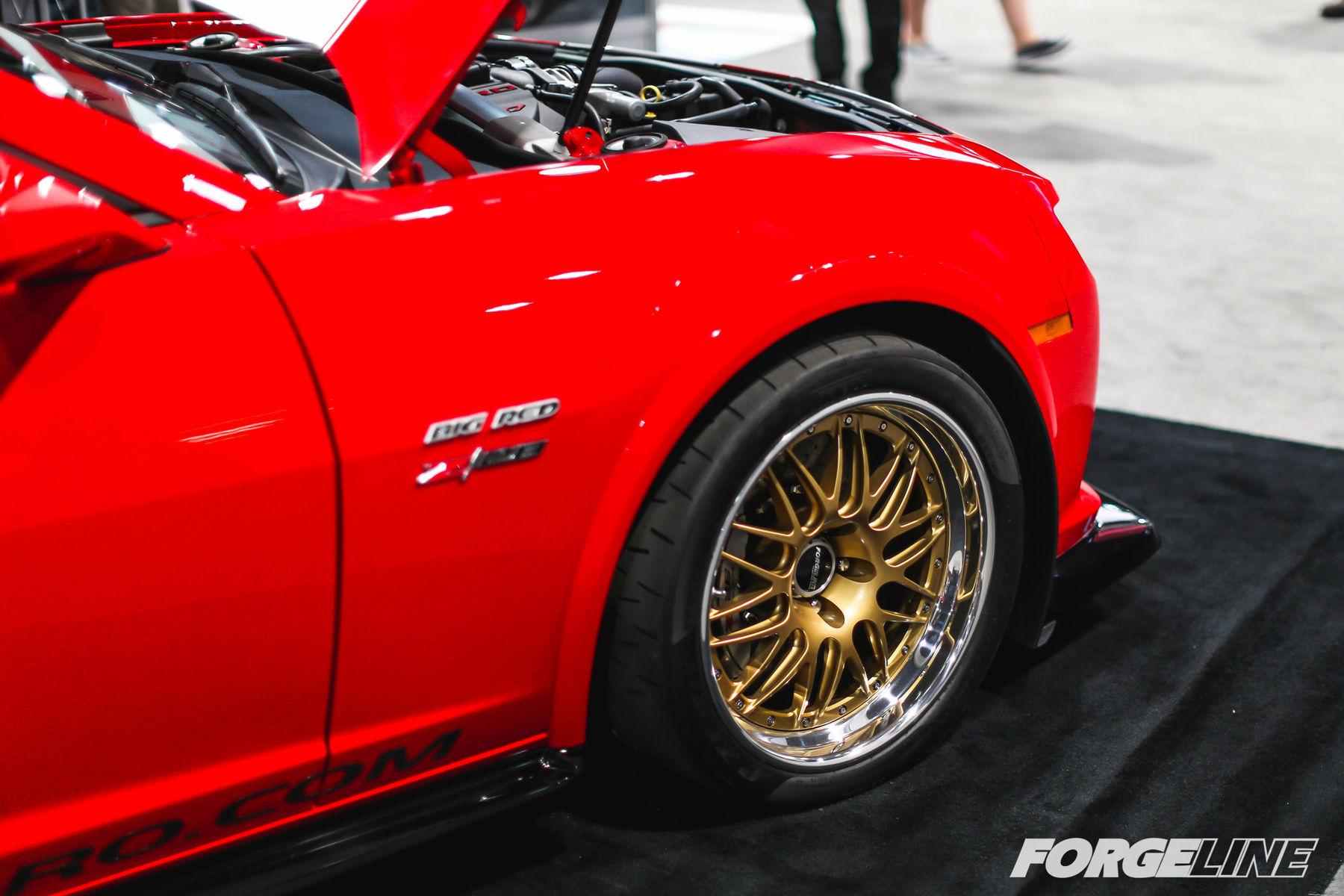 2015 Chevrolet Camaro | Big Red Edition Camaro on Forgeline GX3R Wheels