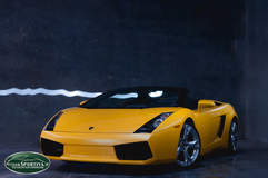 The Lamborghini Gallardo