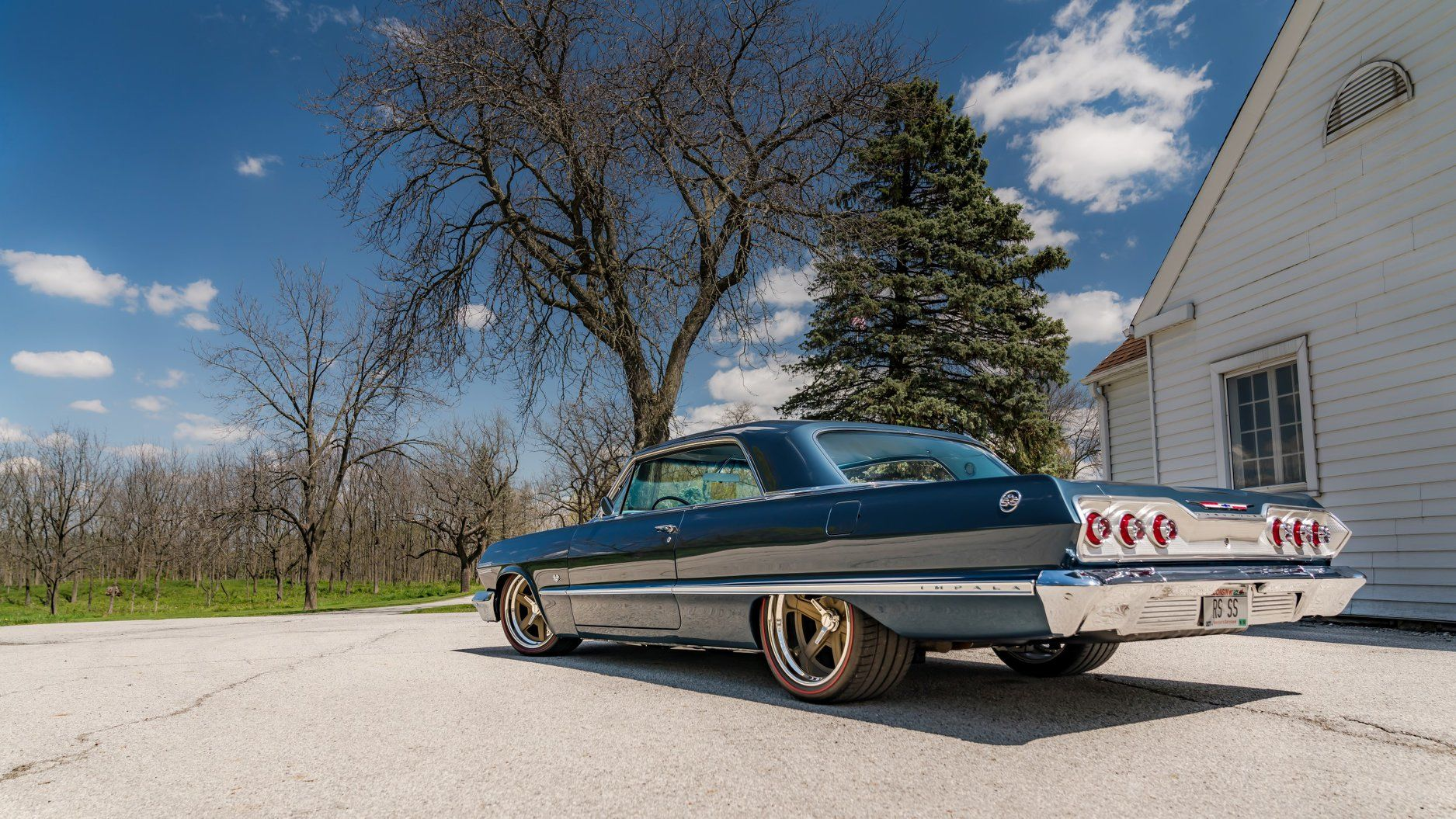 1963 Chevrolet Impala | Barry's Roadster Shop-Built 1963 Chevrolet Impala on Forgeline RS6 Wheels