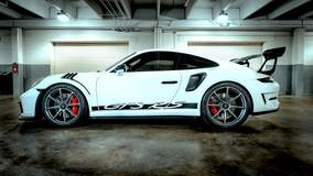 George Smith's 991 Porsche GT3 RS on Forgeline One Piece Forged Monoblock GE1 Wheels
