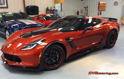 C7 Z06/Z07 on Forgeline GA3C Wheels - Driver Side Shot
