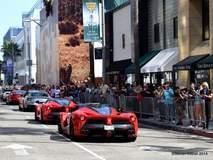 Ferrari President in a La Ferrari
