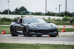 Schwartz Performance C7 Z06 on Forgeline GA1R Open Lug Cap Edition Wheels