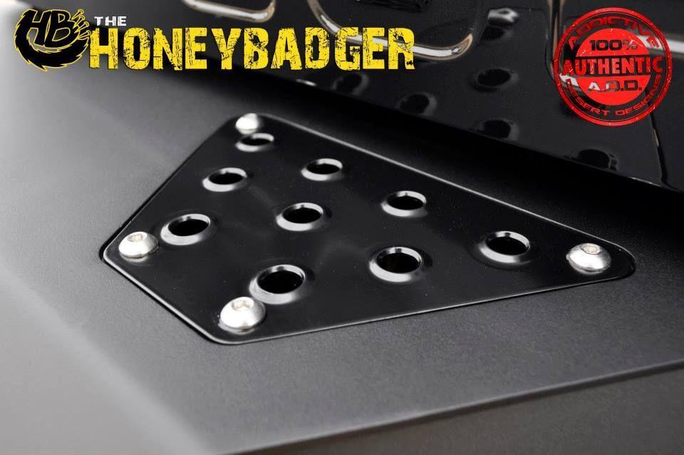| Ford F-250/F-350 Super Duty Honey Badger Rear Bumper