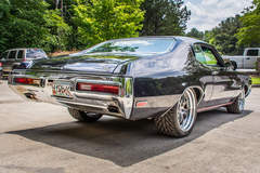 Joni Smith's Forsyth County Customs 455ci Big Block 1972 Buick GS Stage 1 on Forgeline GA3 Wheels