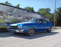 Richie Betz's 540ci Big Block-Powered 1970 Chevelle on Forgeline CV3C Concave Wheels