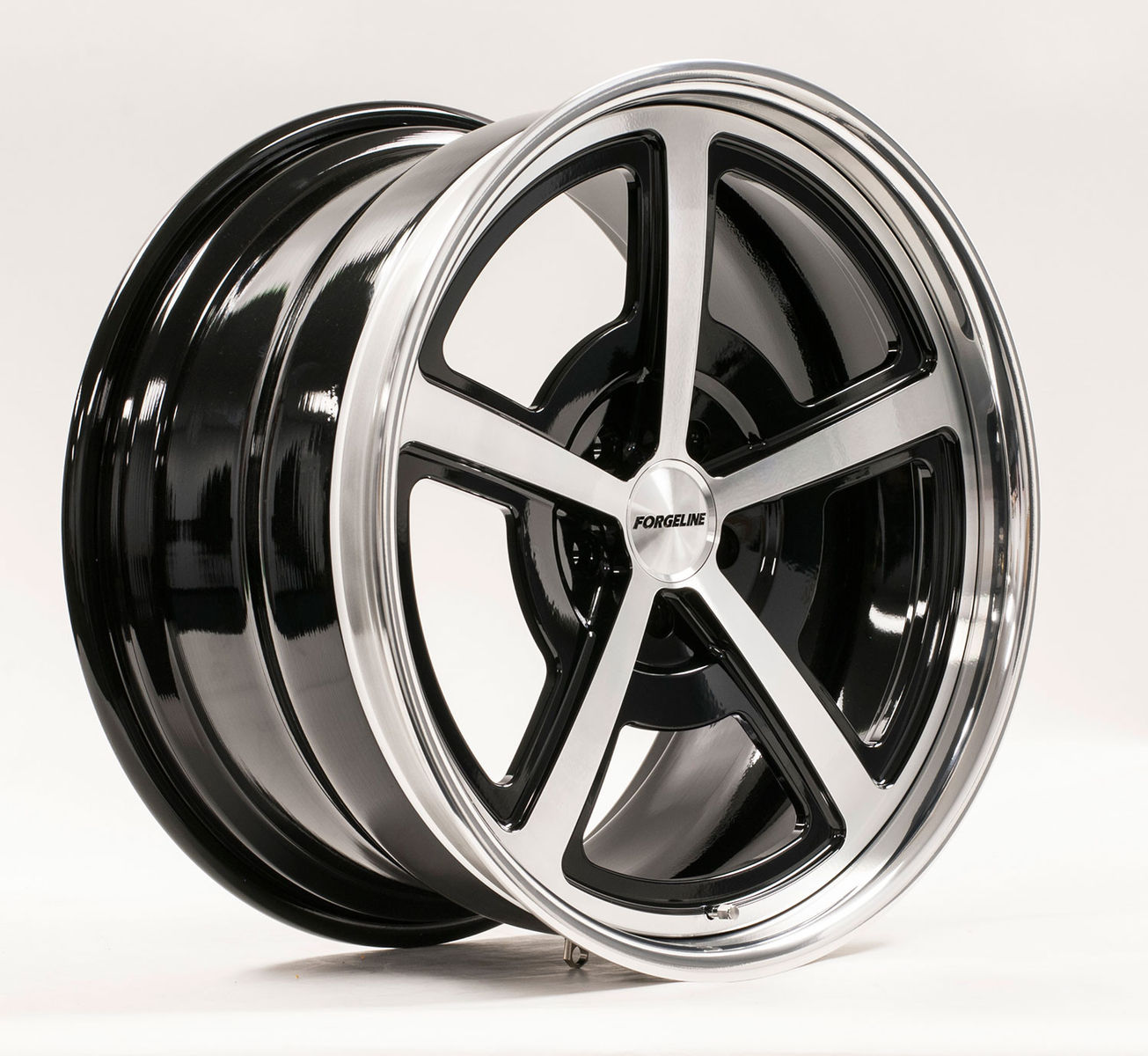 | Forgeline Heritage Series FL500 Wheel in Gloss Black/HTM